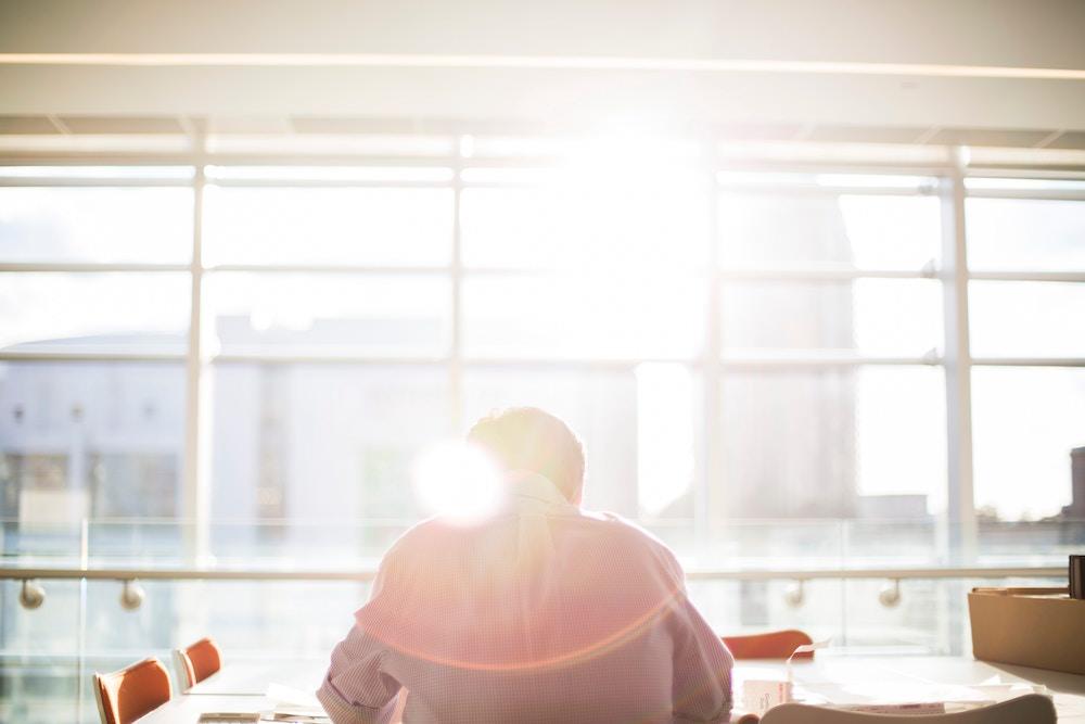 午前中までに仕事の8割を終わらせるという目標