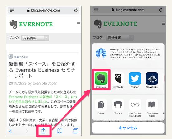 《Evernoteの小枝 #014》ネットの参考記事をクリップ保存する