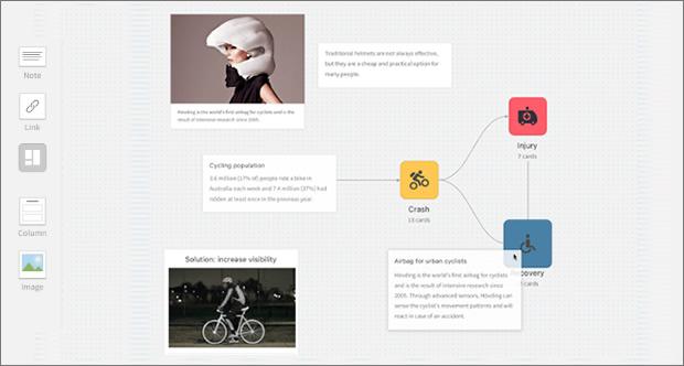 """《トーク解説》""""クリエイティブのためのEvernote""""と呼ばれるクラウドメモツール「Milanote」の特徴とユーザー登録方法をざっくりと"""
