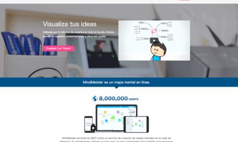 海外ユーザー増やす!MindMeister.jp [スペイン語版] を公開