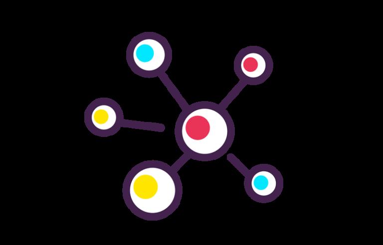 ライターが「取材依頼→取材完了」までにやるべき5つをマインドマップで整理する。