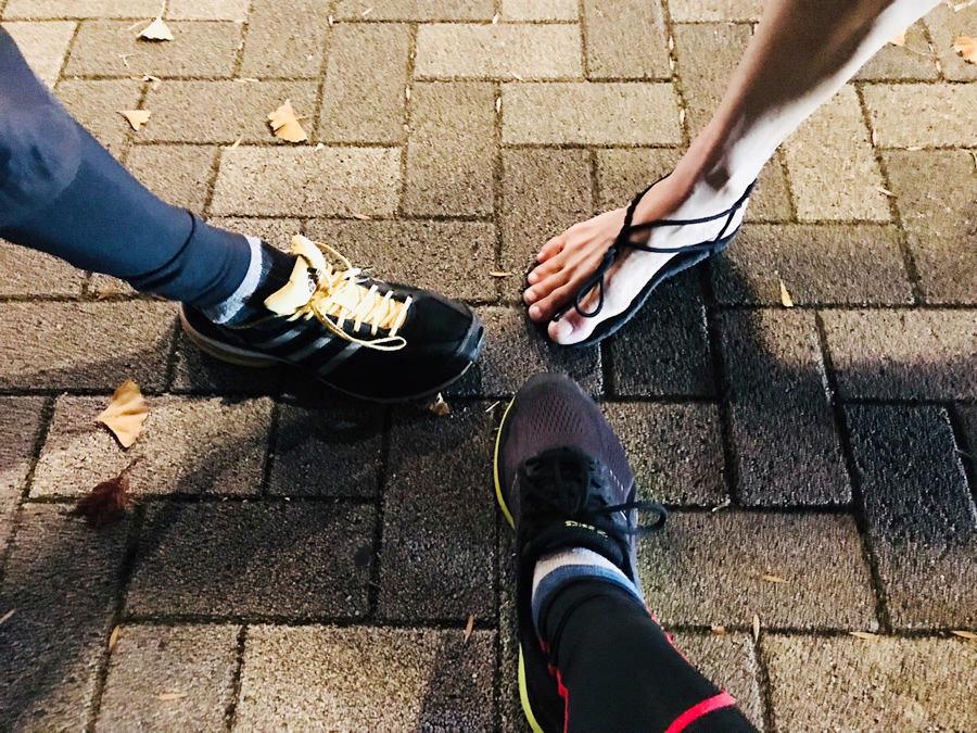 糸島市内にて定例ナイトラン(#いとラン)継続中。走りも軽くしたい