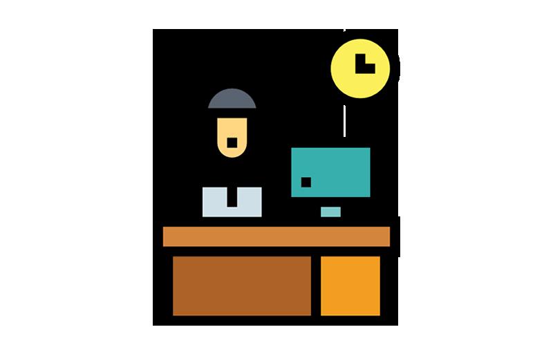 仕事から「趣味」的な作業を除けば、労働時間は半分くらいで済む。