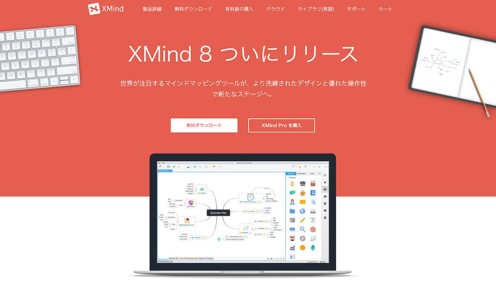 Xmind(エックスマインド)_【比較論】マインドマップツール、「感覚」で選ぶか?「機能」で選ぶか?7つのツールで検証する